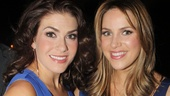 Stunners! Kate Loprest and Sara Chase (who makes her Broadway debut in First Date) are total knockouts!