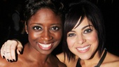Krysta Rodriguez reunites with her Smash onscreen stage manager, played by Memphis knockout Montego Glover.