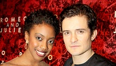 Romeo and Juliet – Opening Night – Condola Rashad – Orlando Bloom