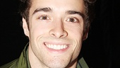 Newsies star Corey Cott takes a break from hawking papes to sell Broadway treasures for a great cause.