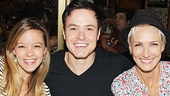 Rock of Ages stars Kate Rockwell and Aaron C. Finley share a snapshot with Chicago headliner Amra-Faye Wright.