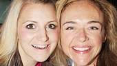 Tony nominated Kinky Boots star Annaleigh Ashford bonds with Pippin's Rachel Bay Jones.