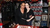 Roz Ryan and Bebe Neuwirth are ready to celebrate 7,000 performances with a big slice of cake.