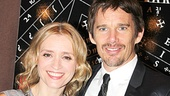 A drum, a drum, Macbeth and Lady M doth come! Anne-Marie Duff and Ethan Hawke will play Shakespeare's bloodthirsty couple.