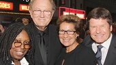 Big Fish – Opening Night –  Whoopi Goldberg - Joop van den Ende - Janine – Bill Taylor