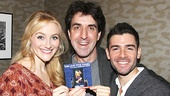 Betsy Wolfe and Adam Kantor celebrate the album release of The Last Five Years with composer Jason Robert Brown.