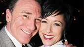 Patrick Page is proud to have his wife, Chicago national tour star Paige Davis, by his side on opening night.