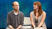 David Hyde Pierce & Julia Murney in The Landing