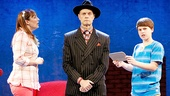 Julia Murney, David Hyde Pierce & Frankie Seratch  in The Landing