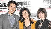 Fun Home Opening Night – Joel Perez – Roberta Colindrez – Alexandra Socha