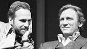 Rafe Spall as Jerry & Daniel Craig as Robert in Betrayal