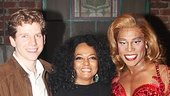 A lovely three-shot of Stark Sands, Diana Ross and Billy Porter.