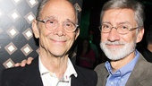 Two former Wizards, Joel Grey and David Garrison, make magic at the party.