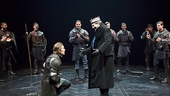 Ethan Hawke as Macbeth, Daniel Sunjata as Macduff & Richard Easton as Duncan in Macbeth