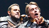 <I>Macbeth</I>: Show Photos - Daniel Sunjata - Ethan Hawke