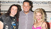 Rock of Ages' Aaron C. Finley and Kate Rockwell name Detroit Tigers player Miguel Cabrera an honorary rock star.