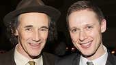 As Olivia, Mark Rylance falls in love at first sight with Samuel Barnett's Viola in Twelfth night—and you will, too.