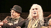 Shuler Hensley as Pozzo, Patrick Stewart as Vladimir, Billy Crudup as Lucky & Ian McKellen as Estragon in Waiting For Godot