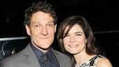 Broadway star Gabriel Ebert says hello to TV veteran Betsy Brandt.