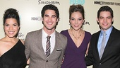 "Who's like them? Damn few! America Ferrera, Darren Criss, Laura Osnes and Jeremy Jordan recreate the song ""Opening Doors"" from Merrily We Roll Along in the film."