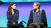 Idina Menzel as Elizabeth & Anthony Rapp as Lucas in If/Then
