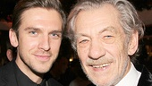 Ian McKellen gets a very special visit all the way from Downton Abbey—The Heiress alum Dan Stevens stops by!