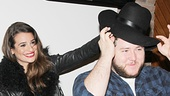 Is that Lea's hat Brian Charles Johnson is playing with? We wouldn't be surprised, since the stylish actress is currently rocking the cover of Elle.