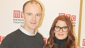 Brian F. O'Byrne, Debra Messing & the Cast of John Patrick Shanley's <i>Outside Mullingar</i> Meet the Press