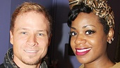 Brian Littrell at After Midnight- Brian Littrell - Fantasia Barrino