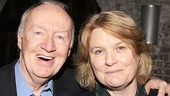 Jim Norton, pictured with his wife, Mary, previously starred in Atlantic's production of Conor McPherson's Port Authority.