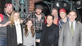 Michael J. Fox Visits Kinky Boots –Daniel Sherman – Tracy Pollan – Esmé Fox Stephen Tewksbury – Michael J. Fox – Eric Leviton – Andy Keslo – Stephen Berger