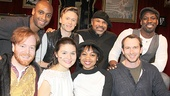 Great Comet – cast – David Abeles – Donte Bonner - Phillipa Soo – Josh Canfield – Sheria Irving - Geoffrey Owens – Conrad Kemp – Maurice Jones