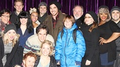 Adam Lambert visits Disaster – Adam Lambert