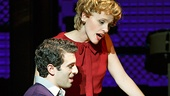 Jarrod Spector as Barry Mann and Anika Larsen as Cynthia Weil in 'Beautiful: The Carole King Musical'