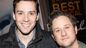 Chicago co-stars Ryan Silverman & Christopher Fitzgerald