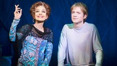 Annie Potts as Berthe & Matthew James Thomas as Pippin in Pippin