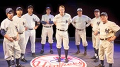 The cast of Bronx Bombers