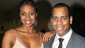 Broadway alums Condola Rashad and Daniel Breaker are dressed to the nines at the winter gala.