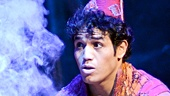 Adam Jacobs in Aladdin. Photo by Deen Van Meer