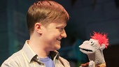 Steven Boyer as Jason & Tyrone the puppet in Hand to God