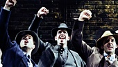 The cast of Bullets Over Broadway