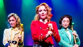 Elle McLemore as Heather McNamara,  Jessica Keenan Wynn as Heather Chandler, Alice Lee as Heather Duke  in Heathers: The Musical