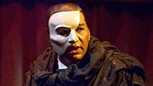 Norm Lewis as The Phantom in The Phantom of the Opera. Photo by Matthew Murphy