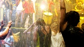 The cast of Fuerza Bruta