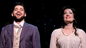 Jeremy Jordan and Laura Michelle Kelly as Sylvia Llewelyn Davies in Finding Neverland
