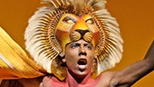Aaron Nelson  as Simba in The Lion King