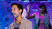 Danny Pudi and the cast of Found