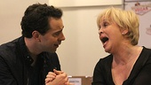 Rob McClure (Jack Singer) and Nancy Opel (Bea Singer).