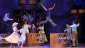 Robert Fairchild as Jerry Mulligan and the cast of An American in Paris