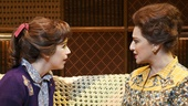 Chilina Kennedy as Carole King and Liz Larsen as Genie Klein in Beautiful: The Carole King Musical